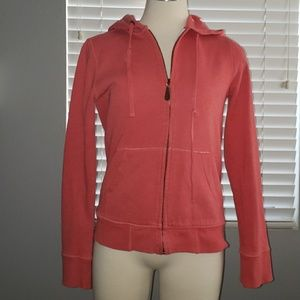 J. Crew Vintage Cotton Fleece Jacket Hoodie